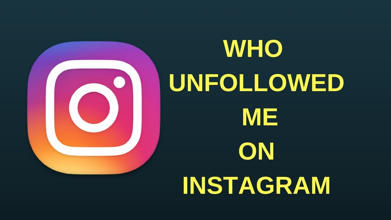 Who Unfollowed me on Instagram